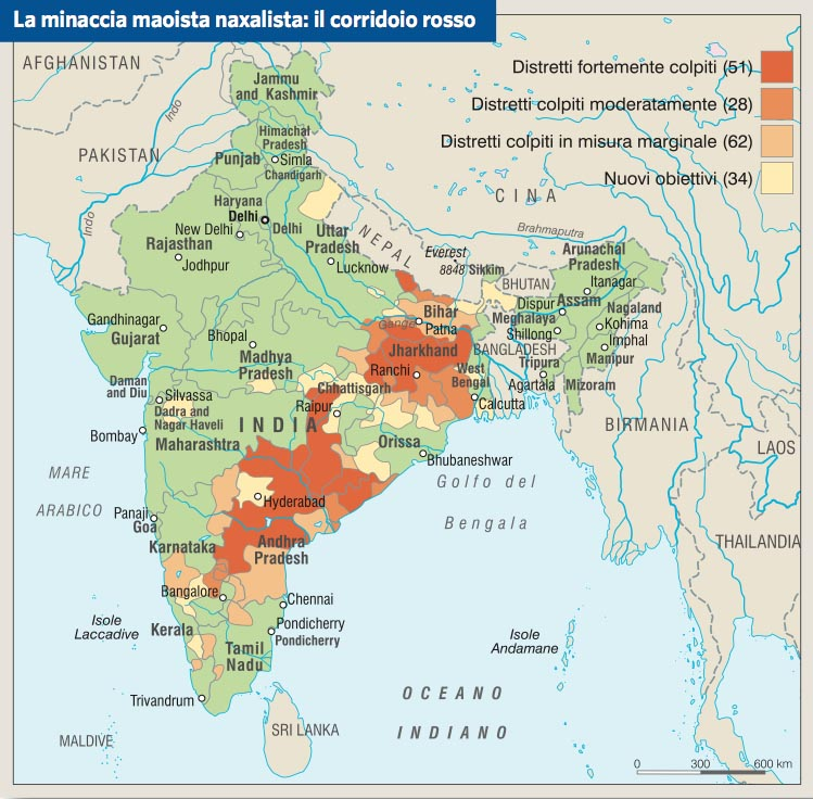 Cartina India Fisica.Cartina Muta India Economia