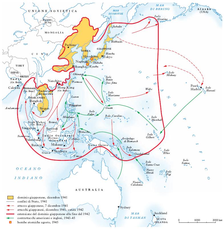 Guerra nel Pacifico( seconda guerra mondiale)
