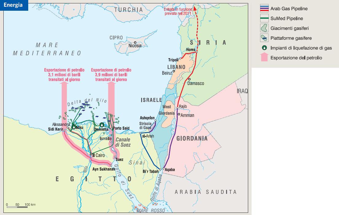 Cartina Turistica Egitto.Egitto In Atlante Geopolitico