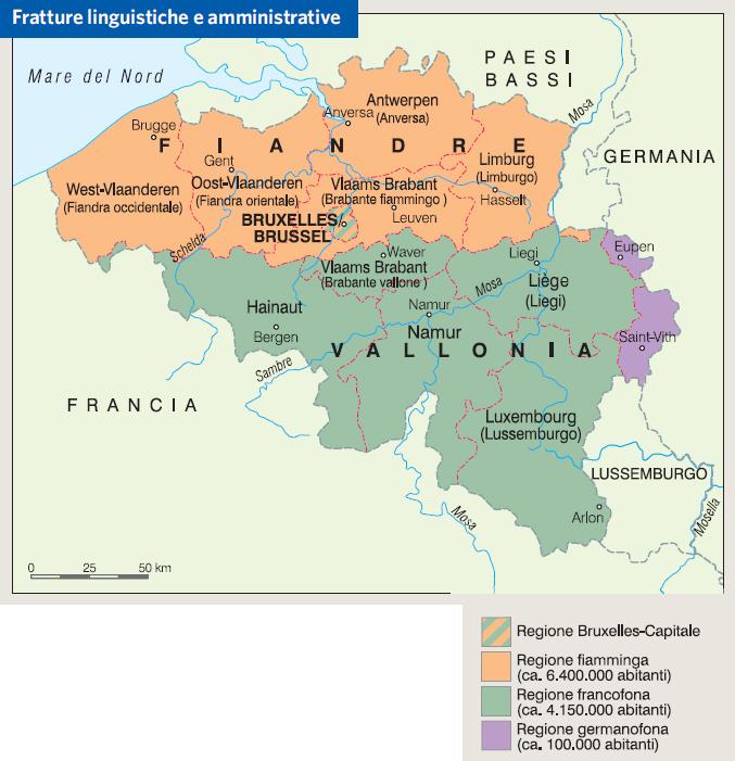 Cartina Del Belgio In Italiano.Belgio In Atlante Geopolitico