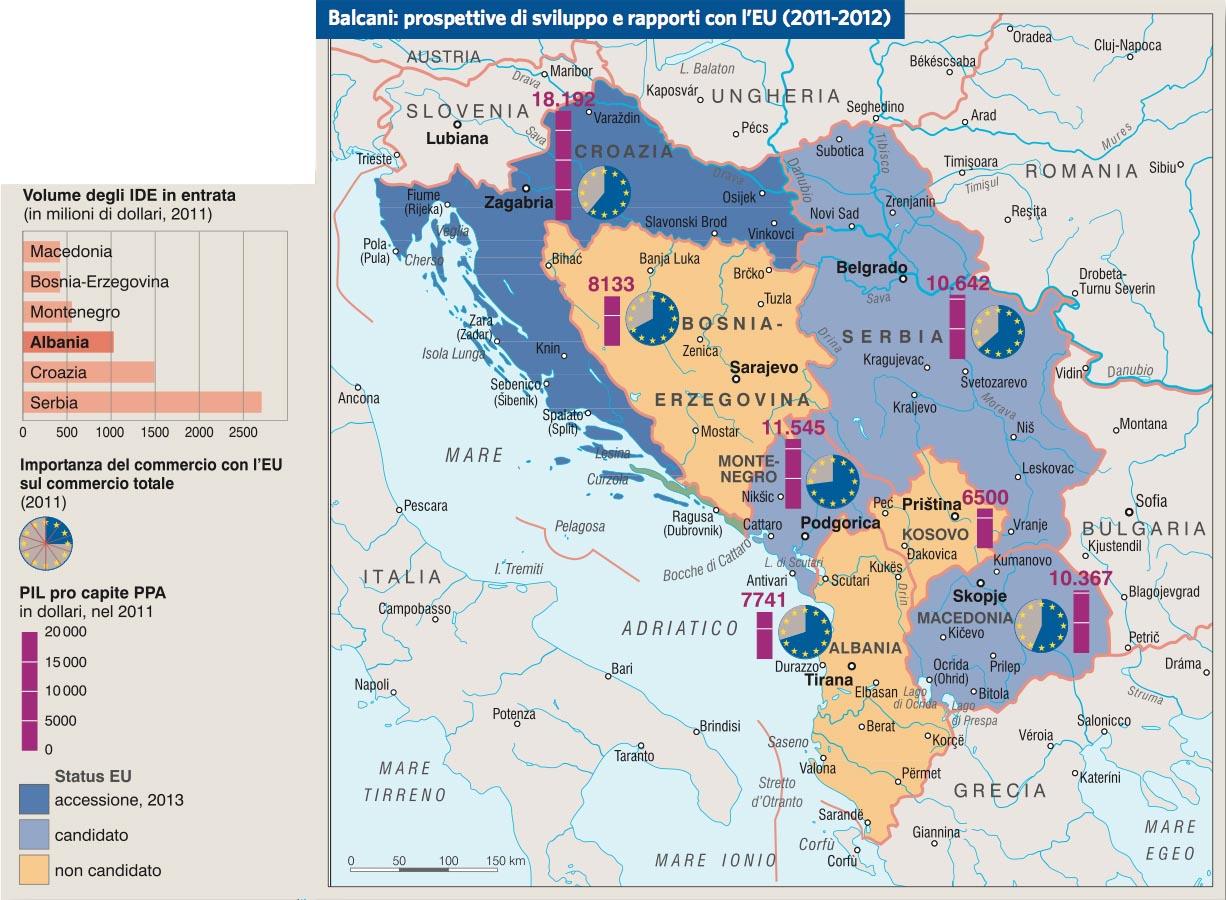 Albania In Albania Atlante Geopolitico In wF4qd4E