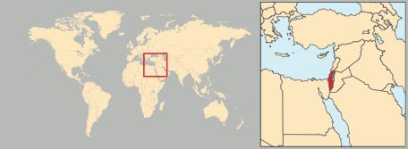 Cartina Politica Israele.Israele In Atlante Geopolitico