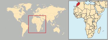 Cartina Geografica Fisica Del Marocco.Marocco In Atlante Geopolitico