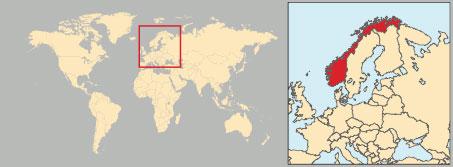 Cartina Politica Norvegia.Norvegia In Atlante Geopolitico