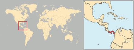 Panamá bandiera posizione mappa Dati geografici. Panamá è uno stato  centroamericano che beneficia di una ... 5f23375d634b
