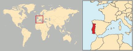 Portogallo Cartina Geografica Politica.Portogallo In Atlante Geopolitico