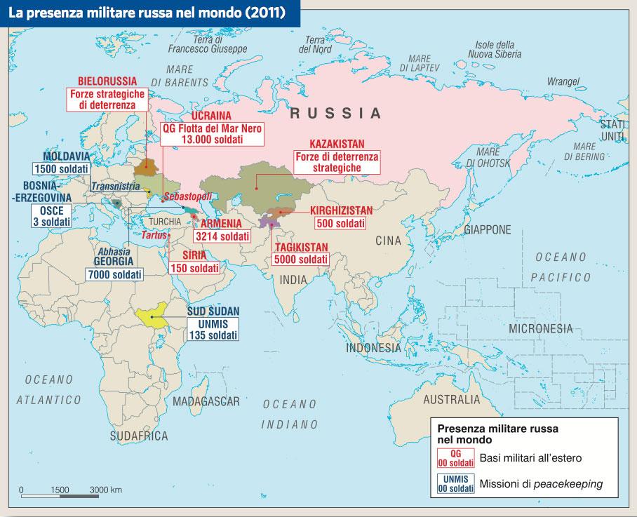 Cartina Russia Cina.Russia In Atlante Geopolitico