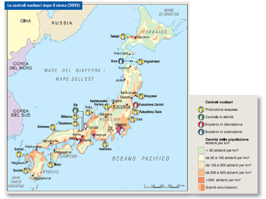 Cartina Del Giappone Politica.Giappone In Atlante Geopolitico