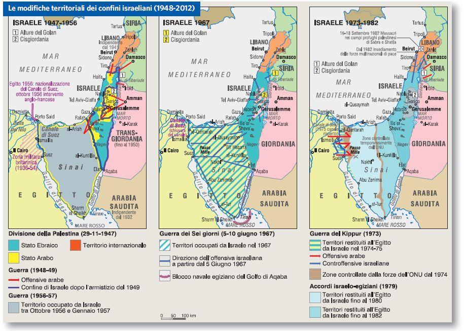Cartina Dello Stato Di Israele.Israele In Atlante Geopolitico