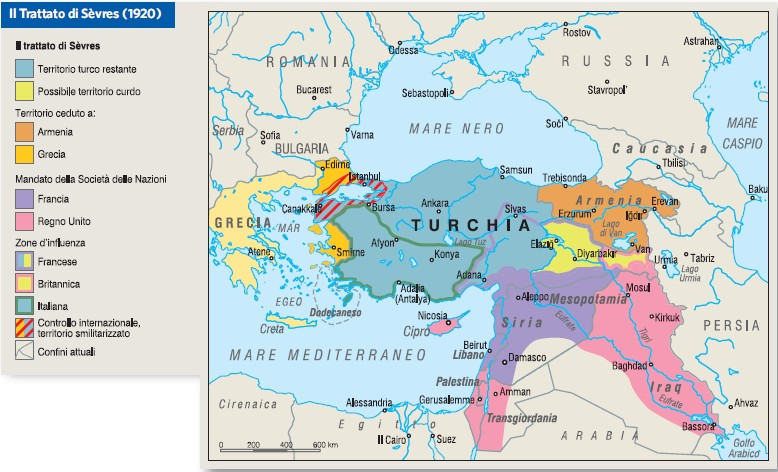 Cartina Mondo Turchia.Turchia In Atlante Geopolitico