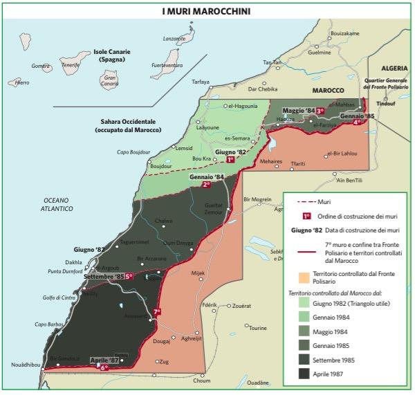Cartina Politica Del Marocco.Marocco In Atlante Geopolitico