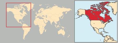 Canada Cartina Fisica.Canada In Atlante Geopolitico