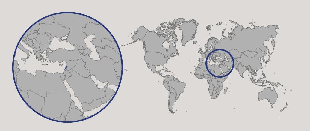 Cartina Del Libano.Libano In Atlante Geopolitico
