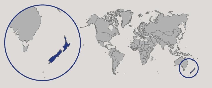 Cartina Nuova Zelanda.Nuova Zelanda In Atlante Geopolitico