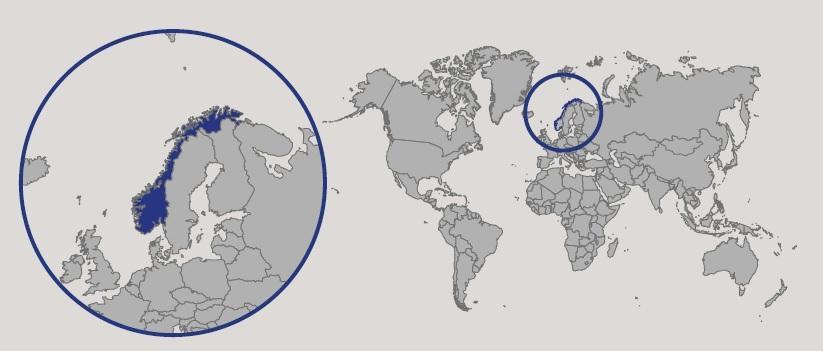 Cartina Geografica Norvegia Fisica.Norvegia In Atlante Geopolitico
