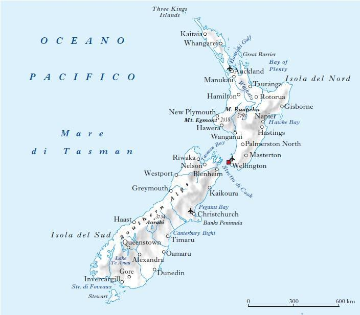 Cartina Geografica Australia E Nuova Zelanda.Nuova Zelanda In Atlante Geopolitico