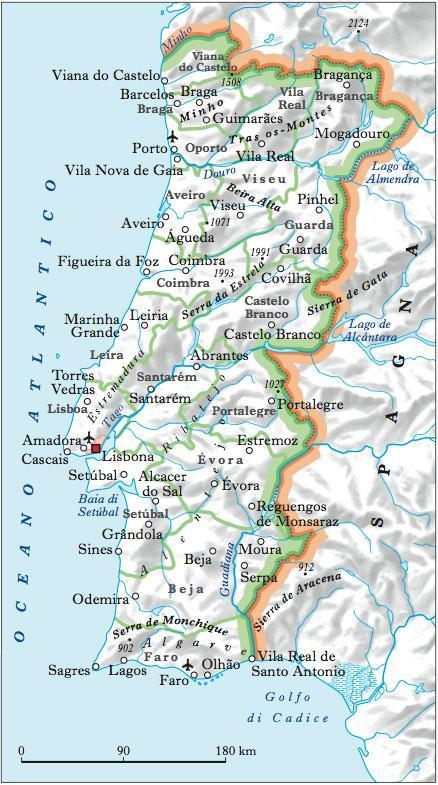 Cartina Del Portogallo Muta.Portogallo In Atlante Geopolitico