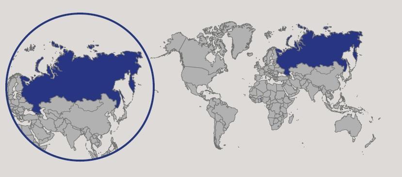 Russia Oggi Cartina.Russia In Atlante Geopolitico