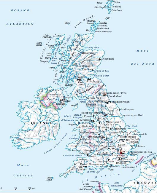 Gran Bretagna Cartina Geografica Politica.Regno Unito In Atlante Geopolitico