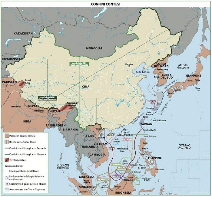 Cartina Climatica Cina.Cina In Atlante Geopolitico