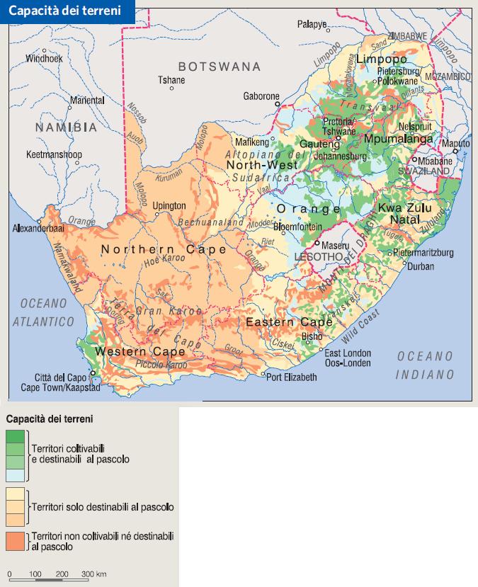 Cartina Africa Del Sud.Sudafrica In Atlante Geopolitico