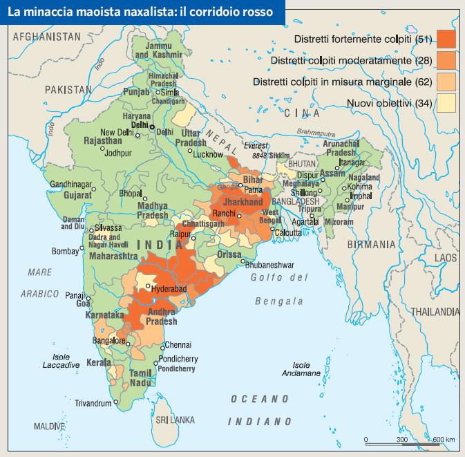 Cartina Fisica E Politica Dell India.India In Atlante Geopolitico