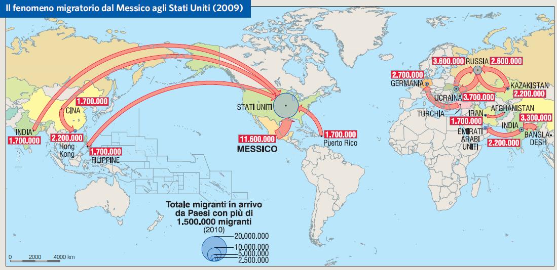 Cartina Geografica Politica Del Messico.Messico In Atlante Geopolitico