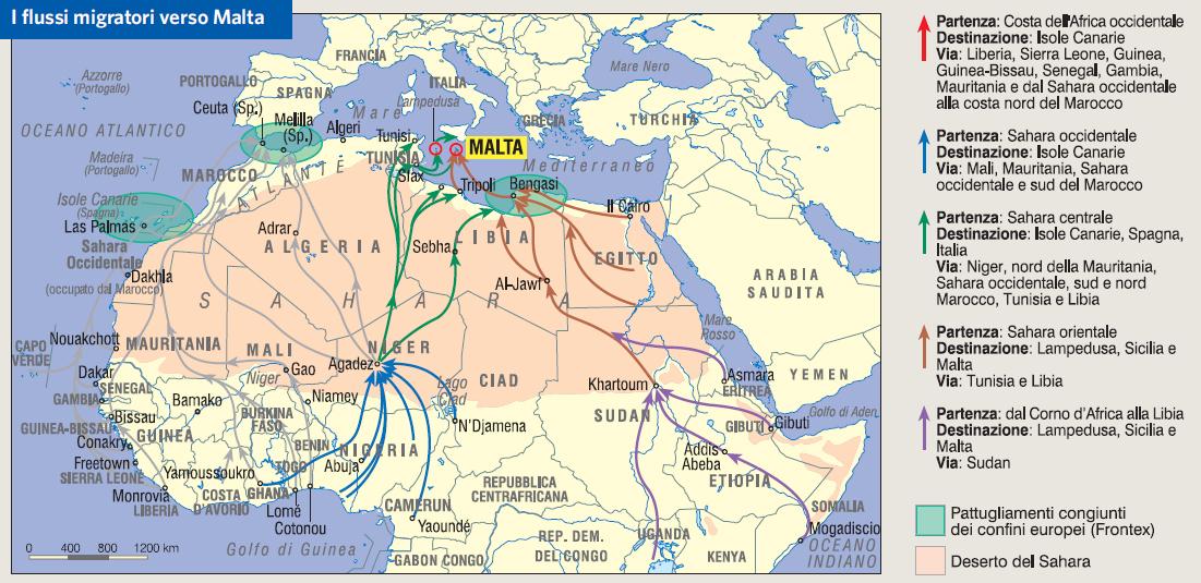 Isola Di Malta Cartina Geografica.Malta In Atlante Geopolitico