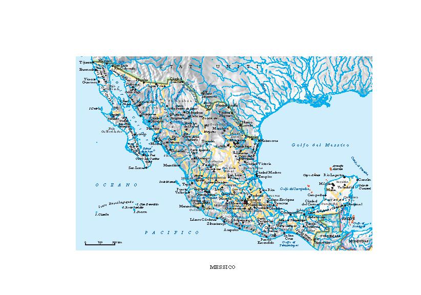 Cartina Politica Messico.Messico In Atlante Geopolitico
