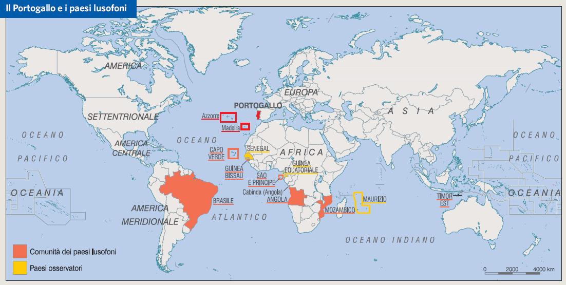 Portogallo Cartina Fisica E Politica.Portogallo In Atlante Geopolitico