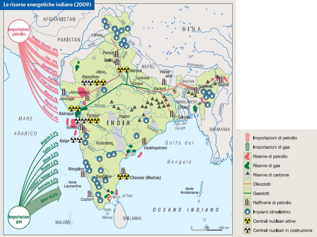 Cartina India Del Nord.India In Atlante Geopolitico