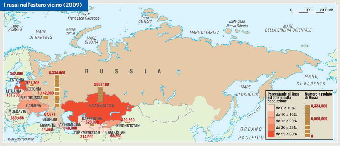 Cartina Politica Della Russia Europea.Russia In Atlante Geopolitico
