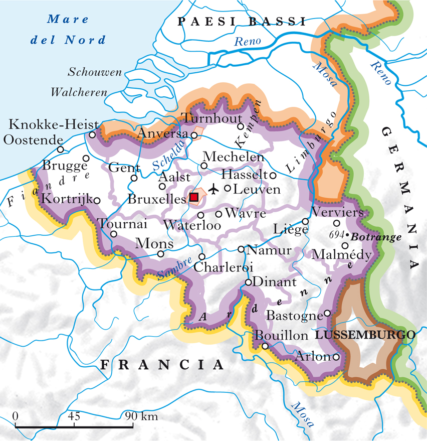 Olanda Cartina Fisica E Politica.Belgio In Atlante Geopolitico