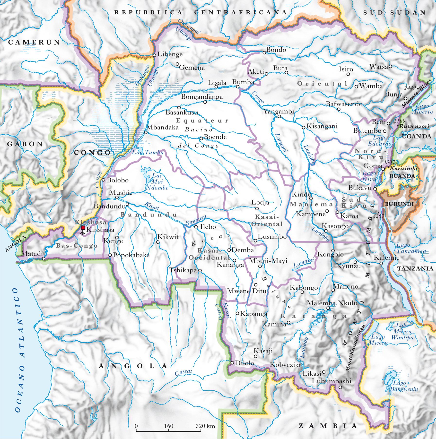 Cartina Muta Del Sudafrica.Congo Repubblica Democratica Del Nell Enciclopedia Treccani