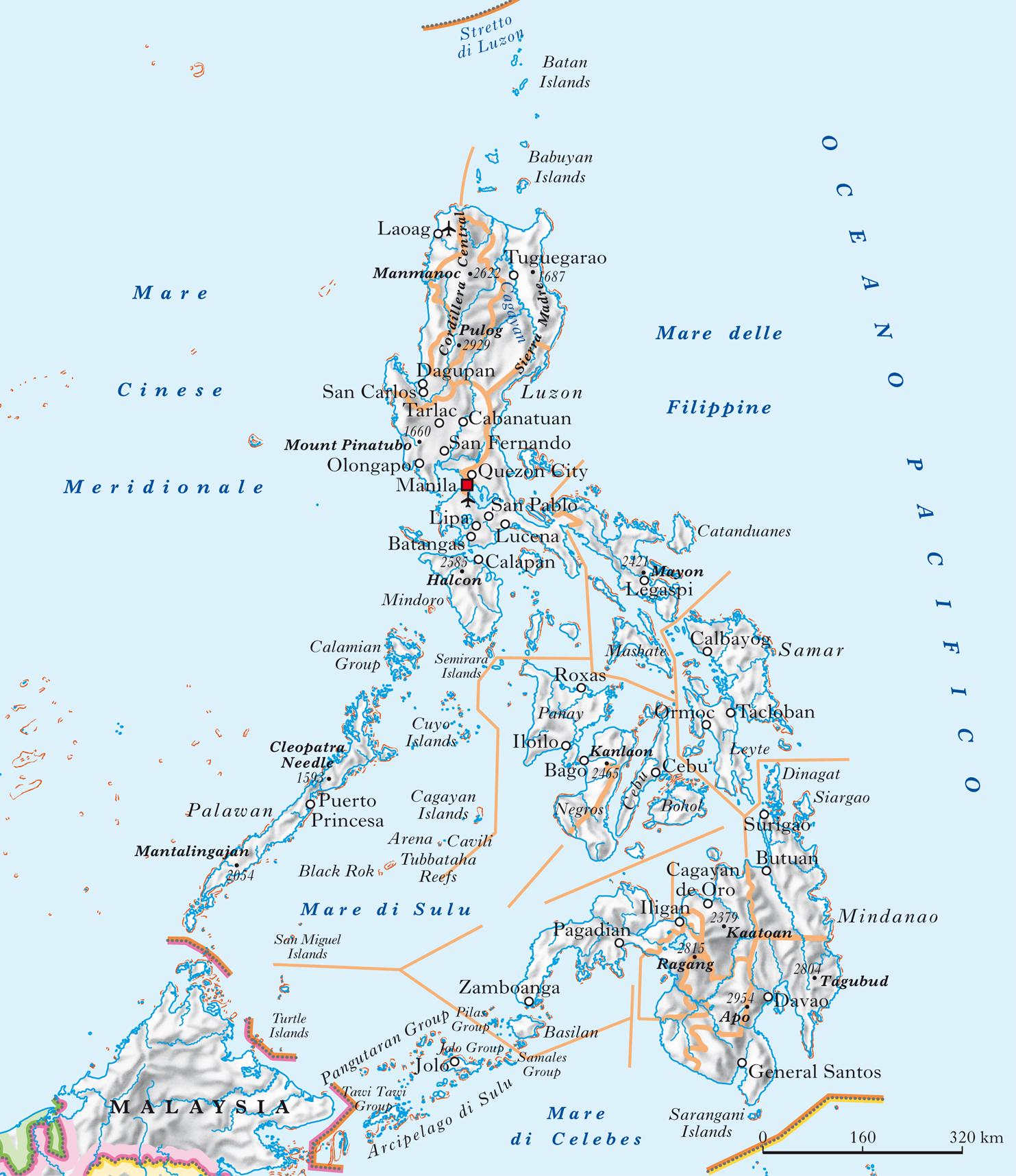 Cartina Geografica Isole Filippine.Filippine In Atlante Geopolitico