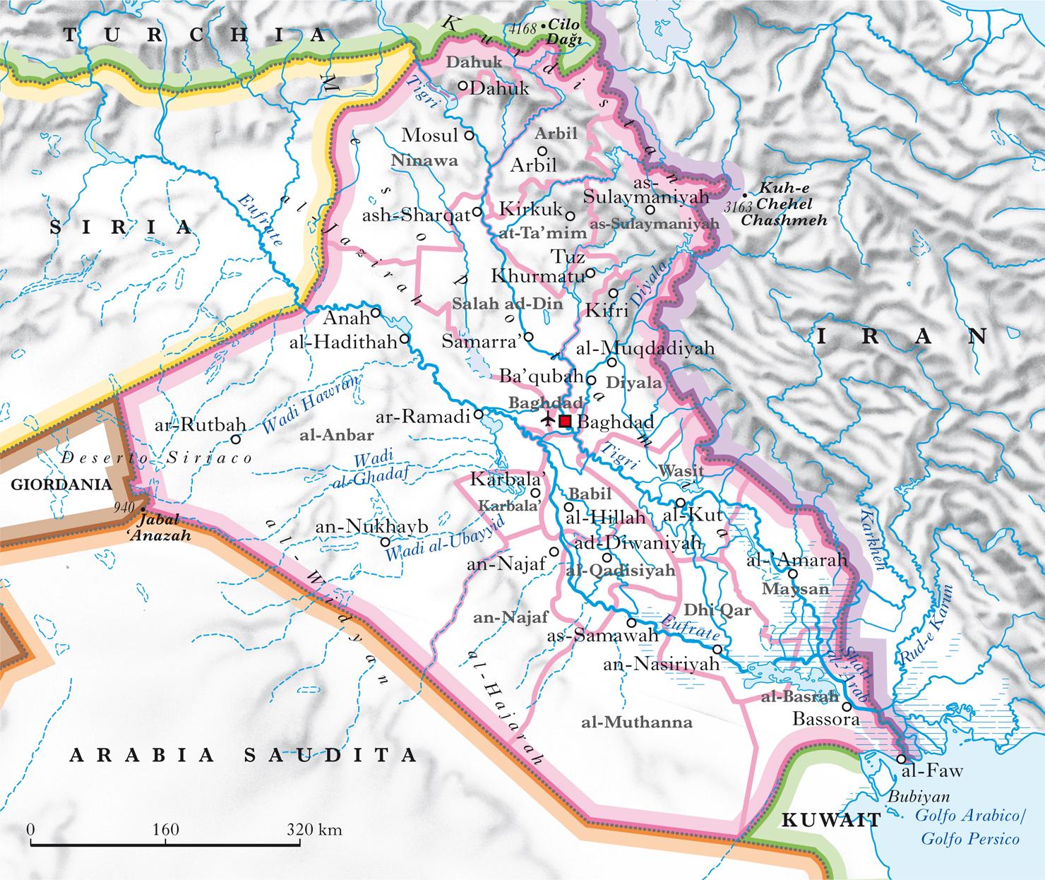 Cartina Iraq.Iraq Nell Enciclopedia Treccani