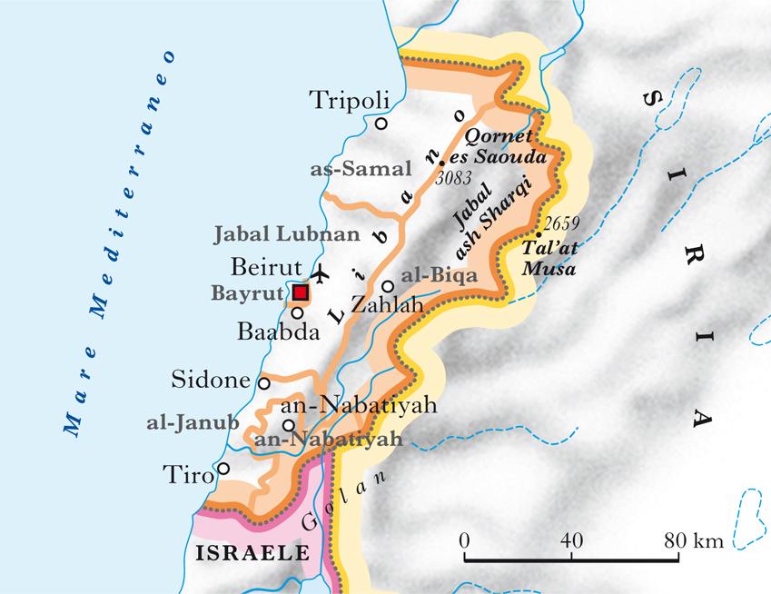 Cartina Del Libano.Libano Nell Enciclopedia Treccani