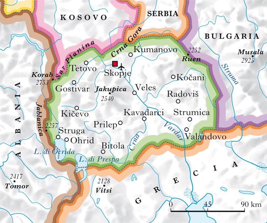 Macedonia repubblica di nell 39 enciclopedia treccani for Repubblica politica