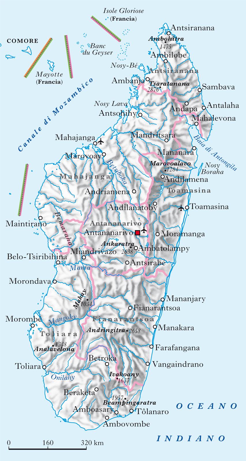 Madagascar Geopolitico In Madagascar In Atlante f76gYby
