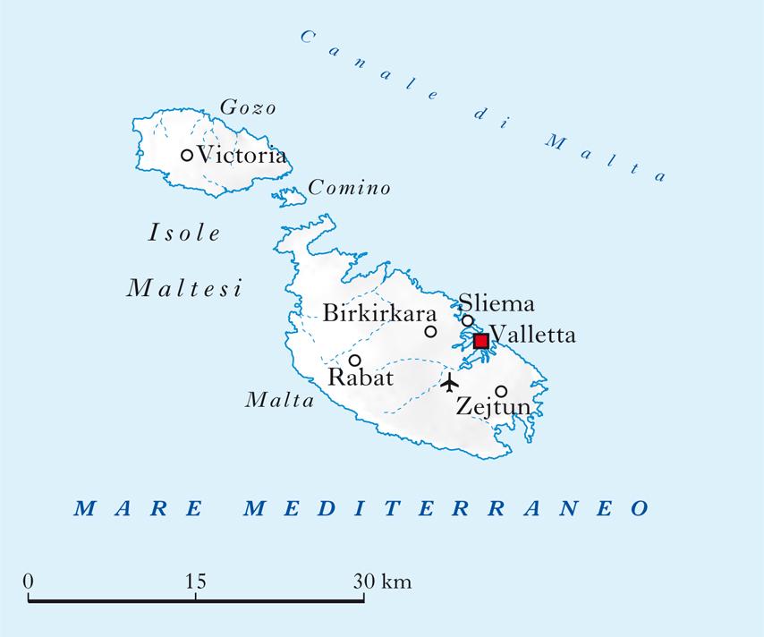 Cartina Politica Malta.Malta In Atlante Geopolitico