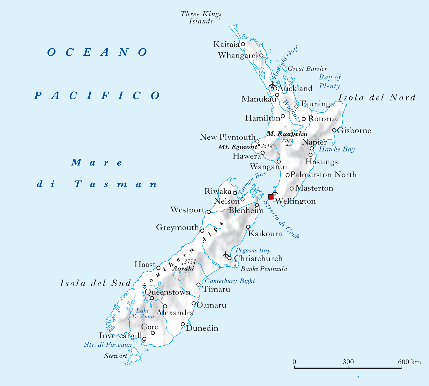 Cartina Nuova Zelanda.Nuova Zelanda Nell Enciclopedia Treccani