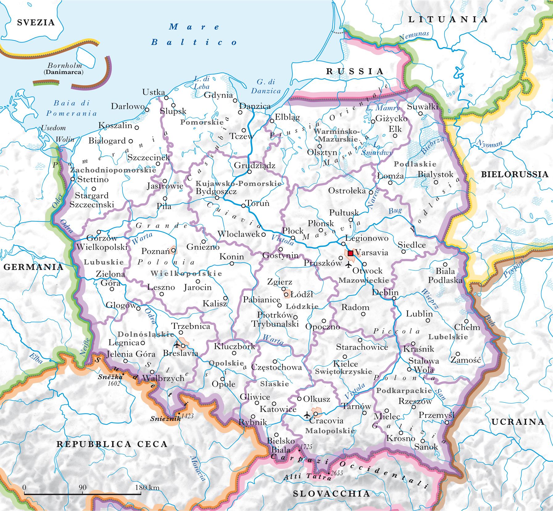 Cartina Elba Fiume.Polonia Nell Enciclopedia Treccani