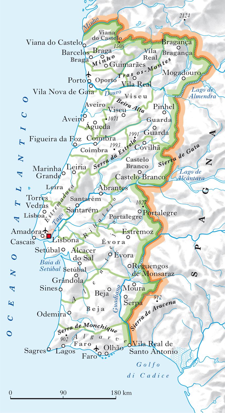 Cartina Fisica E Politica Del Portogallo.Portogallo In Atlante Geopolitico