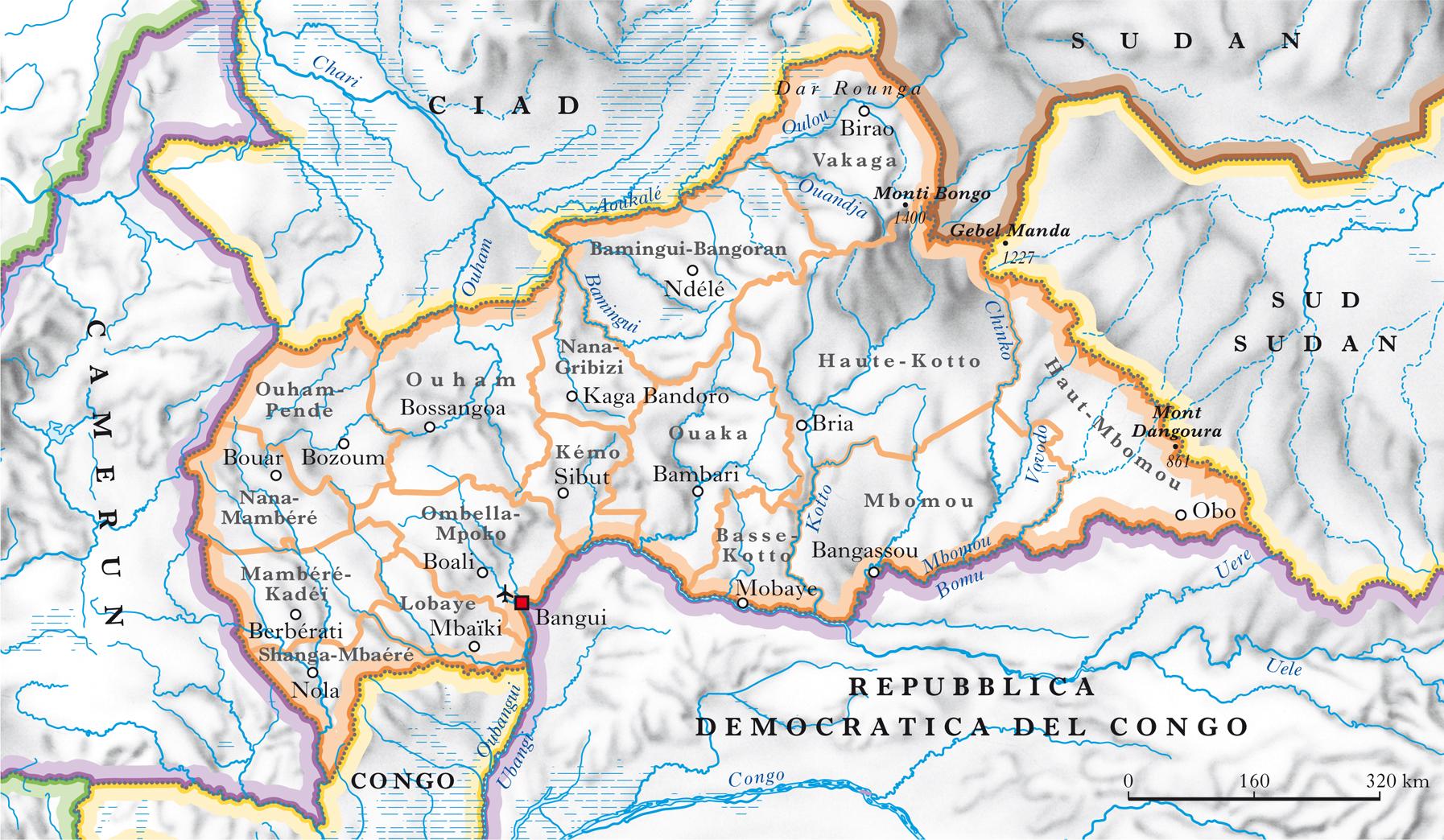Centrafricana repubblica nell 39 enciclopedia treccani for Repubblica politica