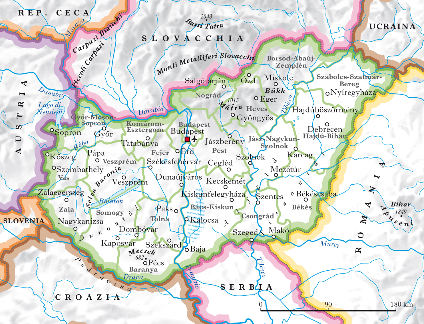 Ungheria In Atlante Geopolitico