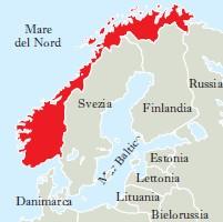 Cartina Norvegia Politica.Norvegia In Enciclopedia Italiana