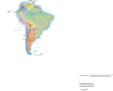 Cartina Fisica America Latina.America In Enciclopedia Dei Ragazzi
