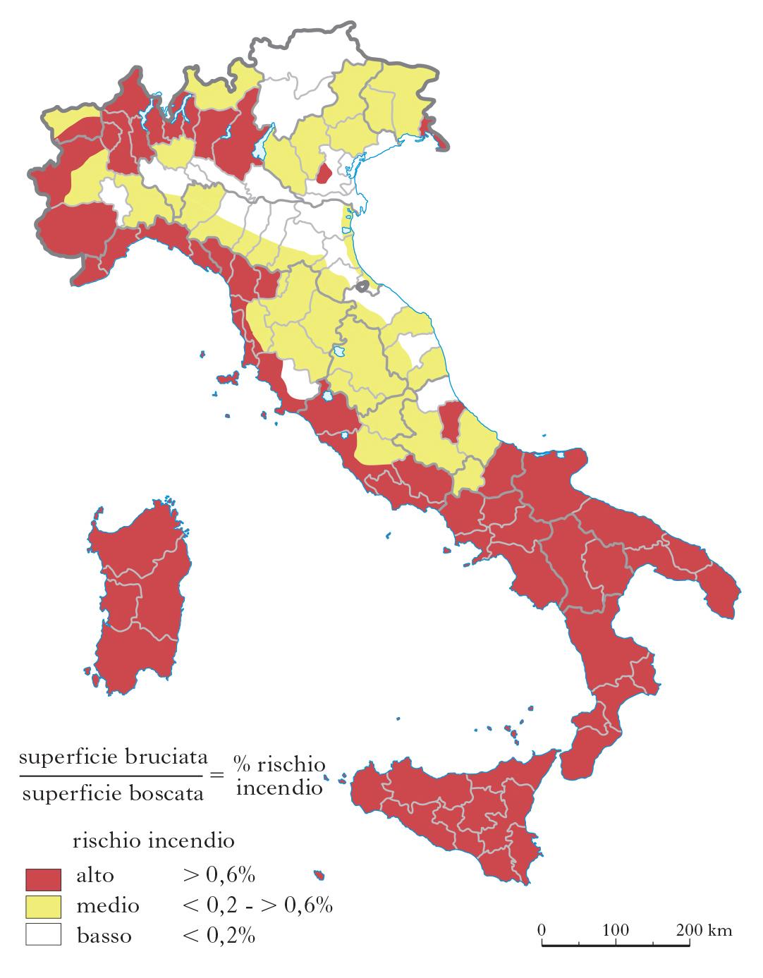 Cartina Italia Con Vulcani.Fragile Italia In L Italia E Le Sue Regioni