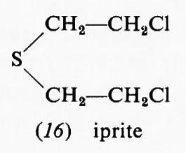 La molecola di Iprite