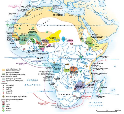 Cartina Geografica Dell Africa Fisica.Africa Nell Enciclopedia Treccani